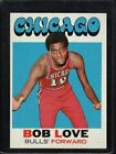 1971 Topps Bob Love #45 Basketball Card