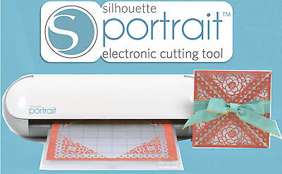 SILHOUETTE PORTRAIT ELECTRONIC DIGITAL CUTTING MACHINE - SMALL CAMEO