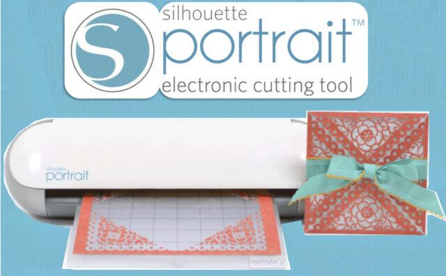 SILHOUETTE PORTRAIT ELECTRONIC DIGITAL CUTTING MACHINE - SMALL CAMEO