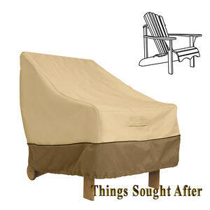 Cover For Adirondack Chair Outdoor Furniture Patio Deck