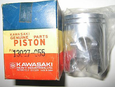 Kawasaki S1 KH250 0.040' 1.00 O/S Piston NOS 13027-055
