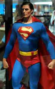 Superman-Cinemaquette-Christoper-Reeve-Toynami-MIB-Nt-Sideshow-Statue