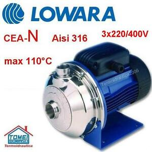 Kreiselpumpe-LOWARA-CEA70-5N-Version-N-Alle-Pumpen-in-Edelstahl-AISI-316