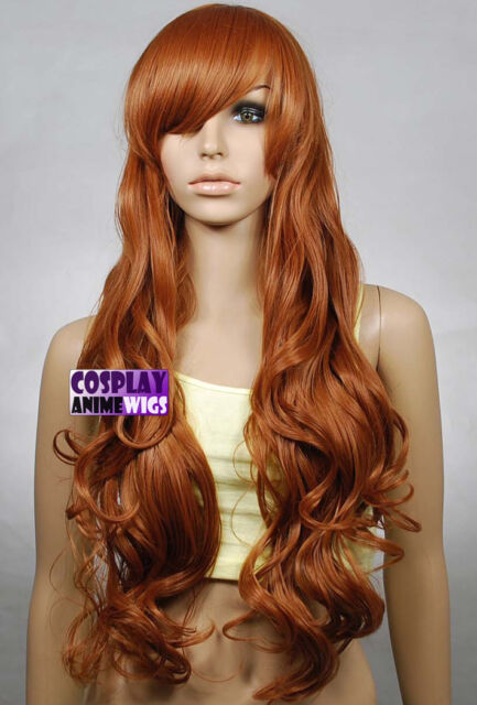 Light Brown 0.8m Volume Soft Wave Curly Long Cosplay Wig 967/LLB