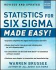 Statistics for Six Sigma Made Easy! by Warren Brussee (Paperback, 2012)