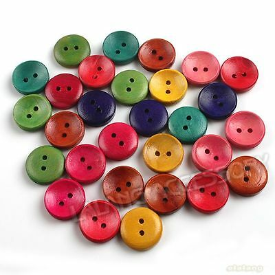 120x 111398 Wholesale Fashion Perfect Assorted Sculpture Flower Wooden Buttons