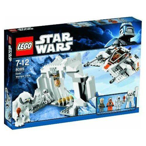 Lego 8089 Star Wars Hoth Wampa Cave Nuevo Sellado retirado