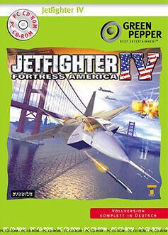 JetFighter IV - Fortress America (PC, 2002, DVD-Box)