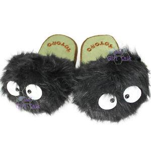 NEW-Totoro-Catbus-Ghibli-Cute-Plush-Doll-Slipper-Slippers-Shoes-D