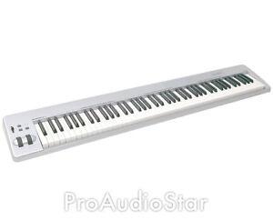 m audio keystation 88es 88 key usb midi controller proaudiostar ebay. Black Bedroom Furniture Sets. Home Design Ideas
