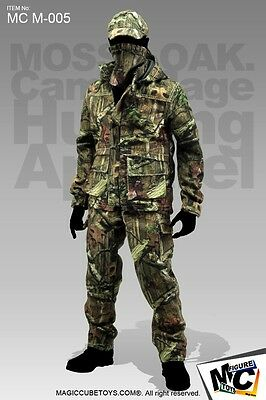 Magic Cube Toys MOSSY OAK Camouflage Hunting Apparel Suit 1/6 MC M-005