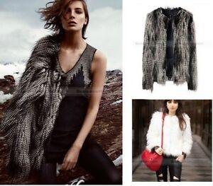 Women-Fashion-Faux-Fur-Short-Jacket-Overcoat-Coat-Outwear-3-Color-XS-XXL-WCOT237
