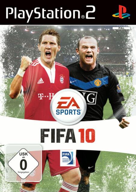 FIFA 10 (Sony PlayStation 2, 2009, DVD-Box)