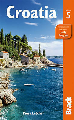 Letcher, Piers, Croatia (Bradt Travel Guides), Very Good Book