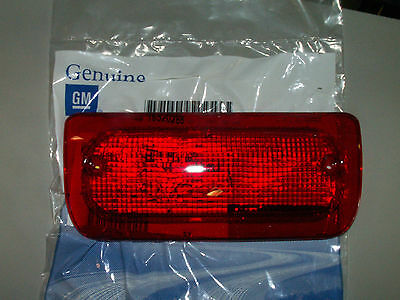 93-03 s-10 sonoma high mount stop 3rd brake lamp lens light s10 regular cab