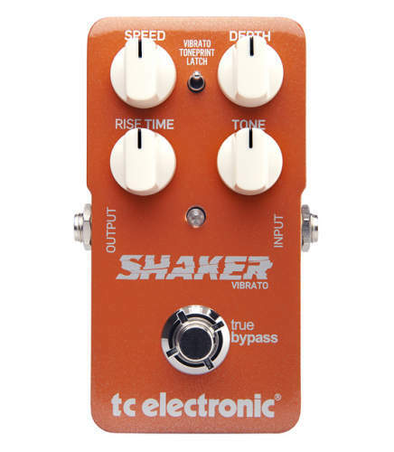 tc electronic shaker vibrato guitar effect pedal for sale online ebay. Black Bedroom Furniture Sets. Home Design Ideas