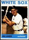1964 Topps Jim Landis Chicago White Sox #264 Baseball Card