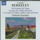 Lennox Berkeley - : Six Preludes; Sonatina; Concertino (2005)