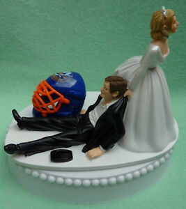 wedding cake toppers in new york wedding cake topper new york islanders ny hockey themed 26513