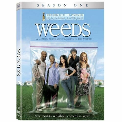 Weeds Season 1 DVD Mary Louise Parker Kevin Nealon Comedy Not Rated Factory Seal