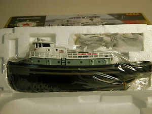 "2000 TEXACO ""FIRE CHIEF"" TUGBOAT BANK DIECAST FIRST IN SERIES MINT IN THE BOX"
