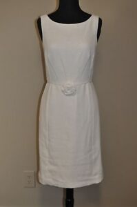Lilly-Pulitzer-Womens-Sally-Dress-Boucle-in-Resort-White-Sz-12-NWT