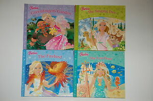 BARBIE-STORIES-4-BOOK-SET-4-ENCHANTING-TALES-BRAND-NEW-FREEPOST-UK