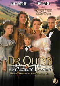 Dr-Quinn-Medicine-Woman-The-Complete-Season-3-DVD-2011-8-Disc-Set-Third
