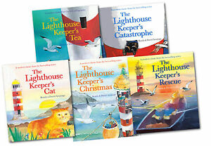 The-Lighthouse-Keeper-039-s-Series-Collection-5-Books-Set-Brand-New-Rescue-Lunch-etc
