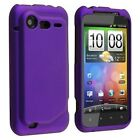 eForCity 5pcs Rubber Hard Cover Case+2x Protector Guard Compatible with HTC Droid Incredible 2 S (905797)