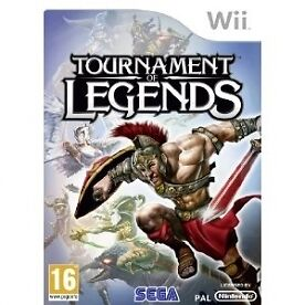 Tournament of Legends (Nintendo Wii, 2010) CHEAP PRICE AND FREE POSTAGE