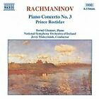 Sergey Rachmaninov - Rachmaninov: Piano Concerto No. 3; Prince Rostislav (1994)