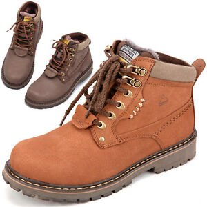 New-Men-Autumn-Winter-Cow-Leather-Nubuck-Tooling-Boots-Fashion-Casual-Boots-X168
