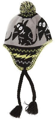 Disney FRANKENWEENIE Laplander Hat PERUVIAN BEANIE CAP Tim Burton VICTOR Sparky