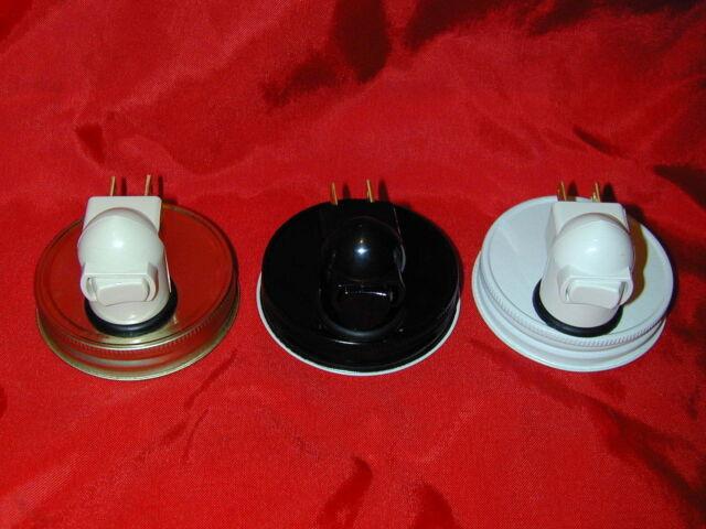 Mason Jar Night Light Converter Reg Jar -  Bedroom, Bathroom, Entryway, Kitchen