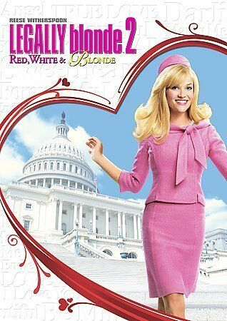 LEGALLY BLONDE 2 Special Edition Reese Witherspoon DVD R4 PAL like new