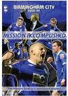 Birmingham City - Mission Accomplished - Season Review 2008/2009 (DVD, 2009)