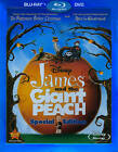 James and the Giant Peach (Blu-ray/DVD, 2010, 2-Disc Set, Special Edition)