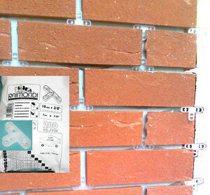 Raimondi 10mm 39 t 39 shape brick slip spacers 200pcs pack for 10mm floor tile spacers