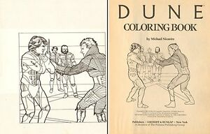 dune coloring book p 1 paul atreides vs feyd rautha