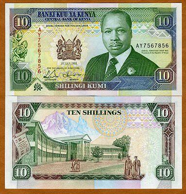 Kenya, 10 shillings, 1-7-1993, P-24 (24e), UNC