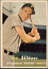1957 Topps Bob Skinner Pittsburgh Pirates #209 Baseball Card