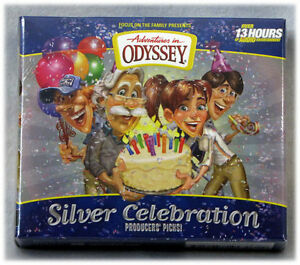 New Silver Celebration Cd Adventures In Odyssey Aio Focus