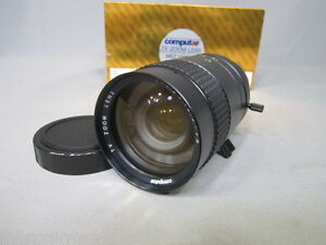 COMPUTAR-FAST-SPEED-1-2-12-5-75mm-C-MOUNT-ZOOM-LENS-16MM-MOVIE-CAMERA