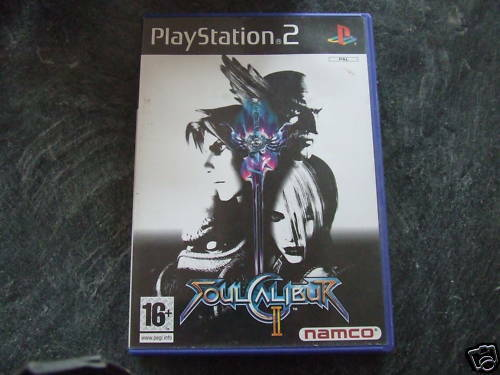Soul Calibur II (Sony PlayStation 2, 2003) - European Version