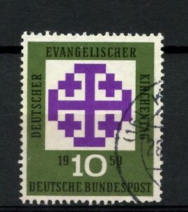 West-Germany-1959-SG-1233-Church-Day-Used-A22430