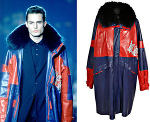 19-693-NEW-GIANNI-VERSACE-LEATHER-COAT-WITH-FOX-FUR-COLLAR-AND-CRYSTALS