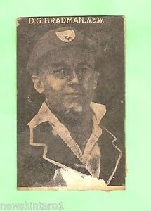 RARE-PLUMBRIDGE-CONFECTIONERY-1929-30-AUSTRALIAN-CRICKET-CARDS-13-of-15