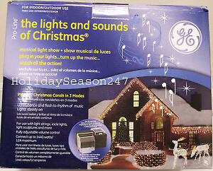 Mr Christmas Holiday Musical Light And Sound Show LightShow ...