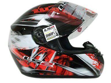LS2 FF352 WOLF FULL FACE LIGHTWEIGHT MOTORCYCLE MOTORBIKE CRASH HELMET WULF